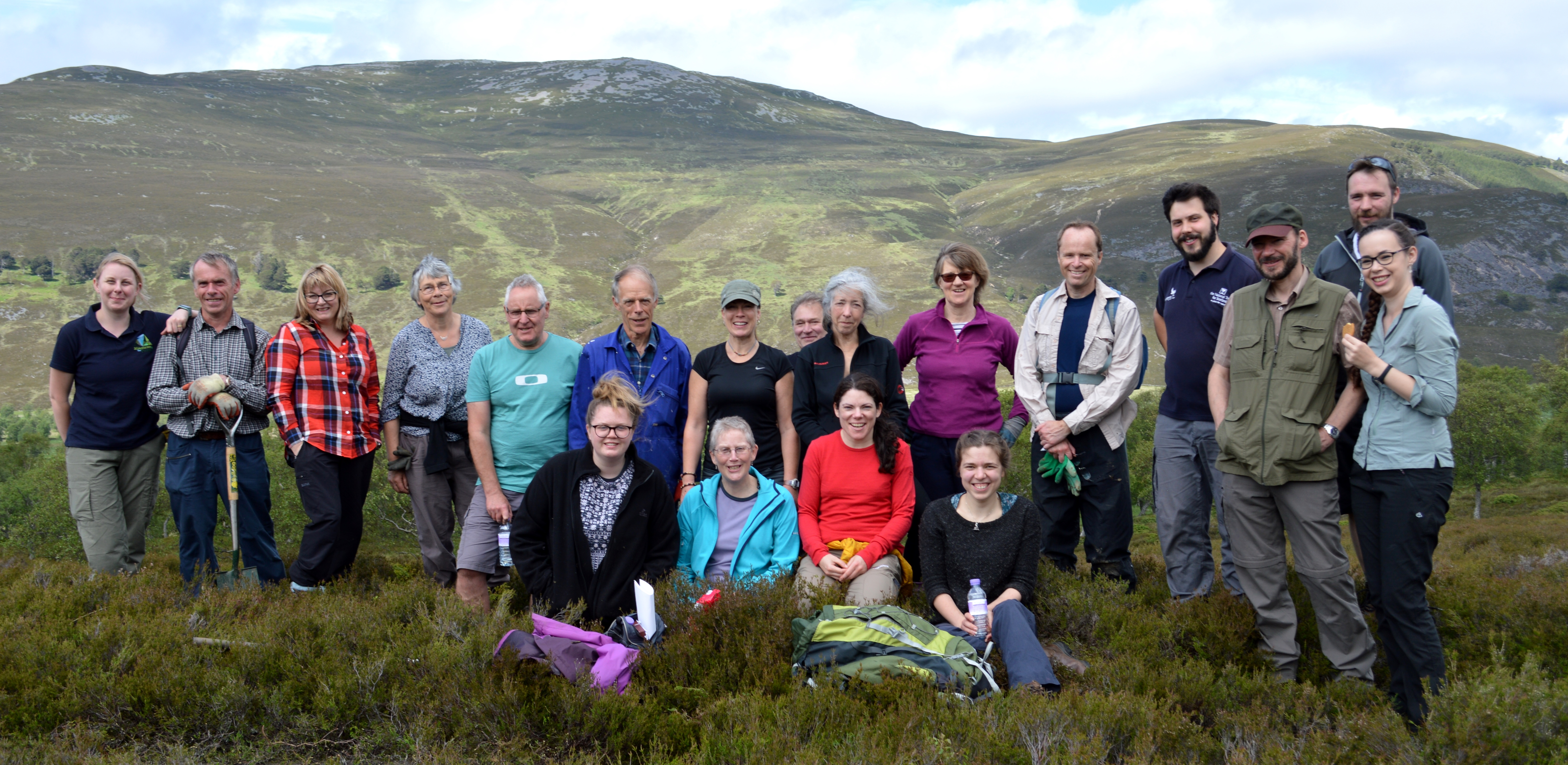 Volunteer Cairngorms Mountains and the People