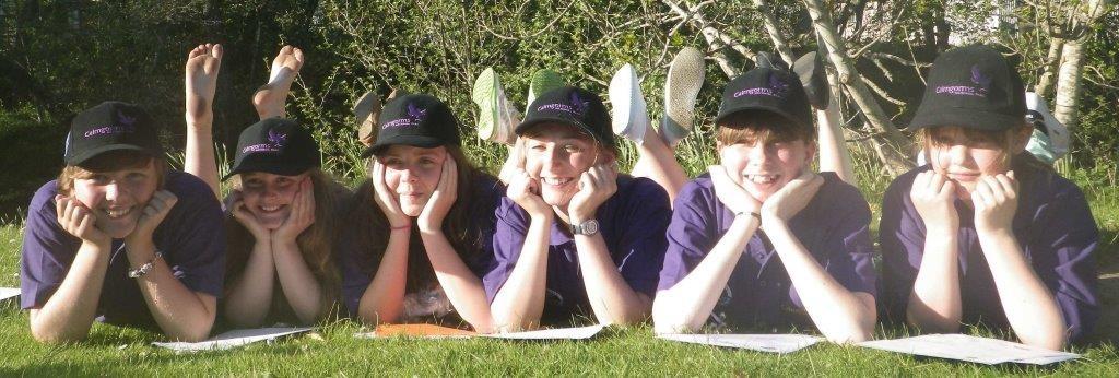 Junior Ranger girls