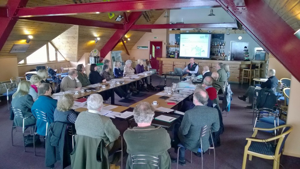 Image showing a meeting of the Planning Representatives Network