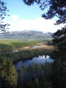 View to Uath Lochans