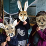 Mask fun at Muir of Dinnet
