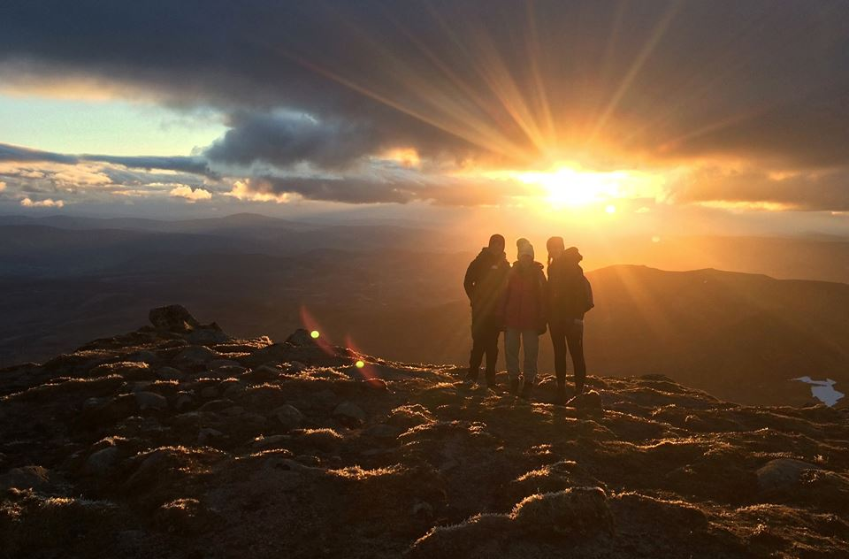 Sunrise at Lochnagar