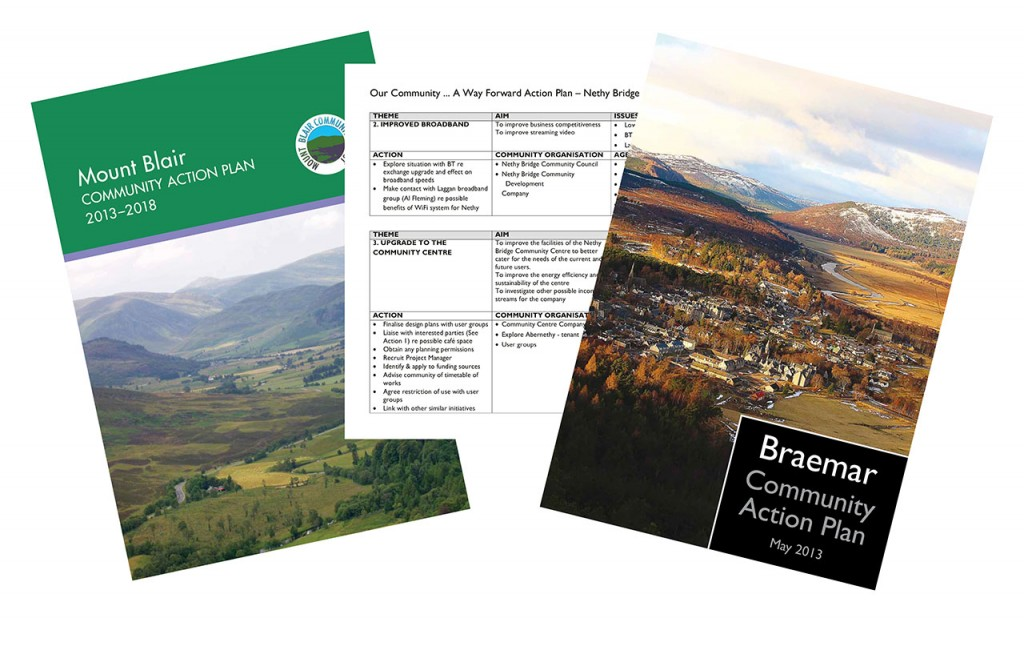 Community Action Plan covers