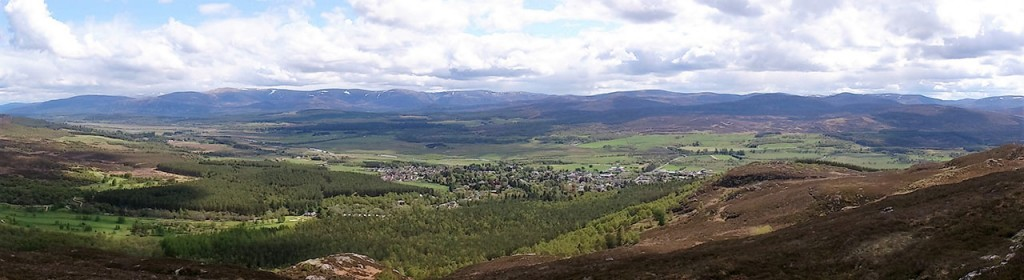 view from Creag Bheag
