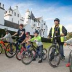 Festival for all cycling at Blair Castle