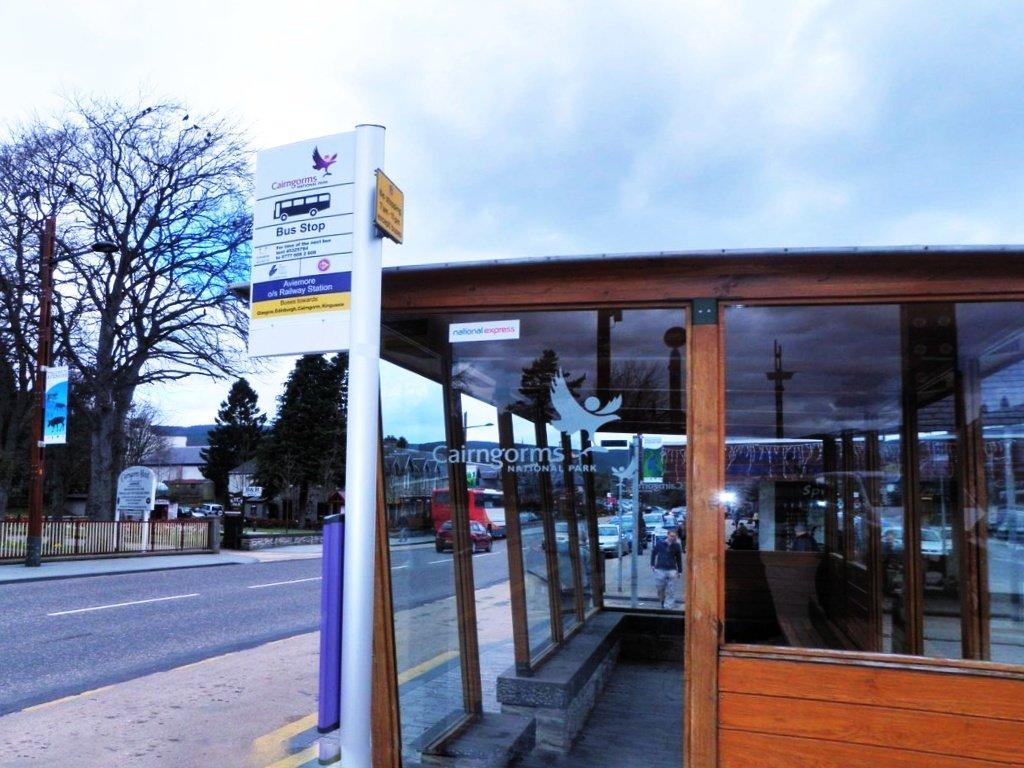 Aviemore Bus Stop