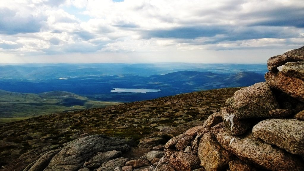 Loch Morlich from Cairn Gorm