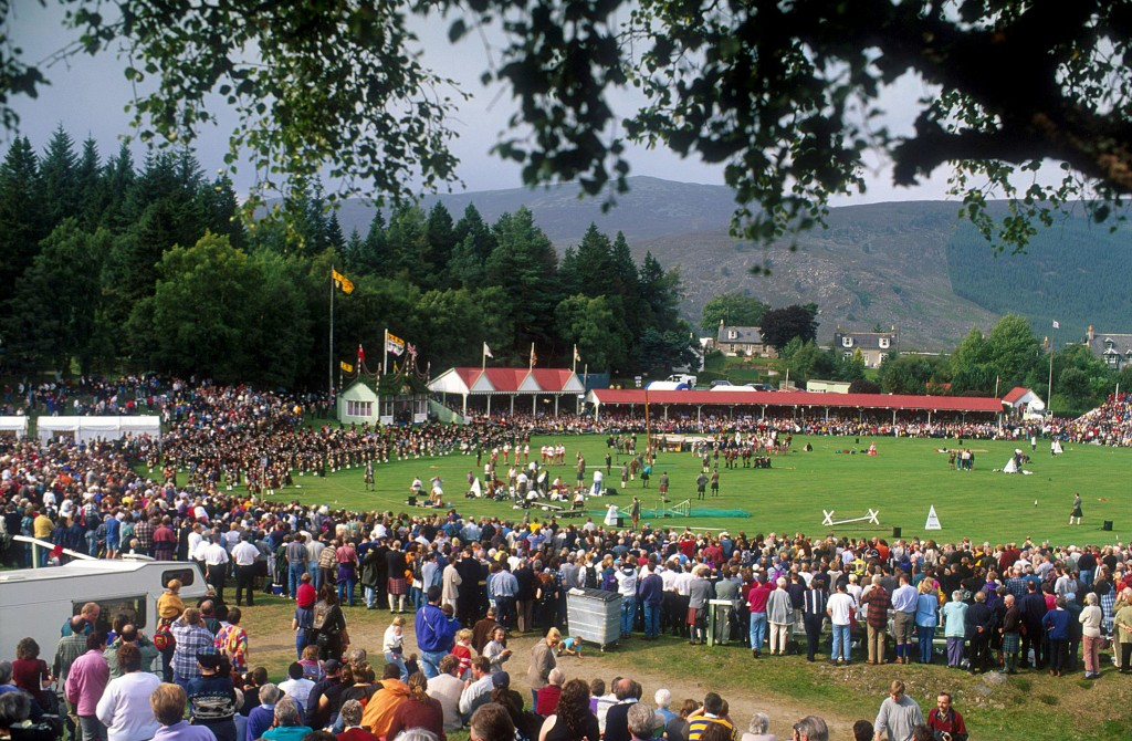 The Braemar Royal Highland Gathering , Aberdeenshire © Visit Scotland