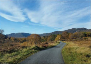 Newtonmore from leaflet