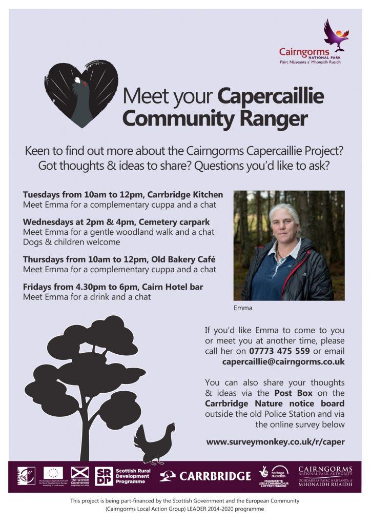 Meet your Capercaillie Community Ranger