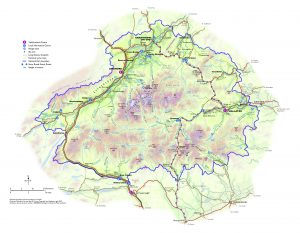 Cairngorms National Park Visitor Information Map