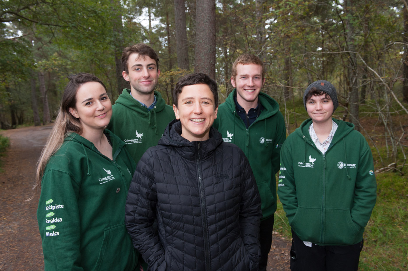 Minister of the Environment and the Youth Action Team